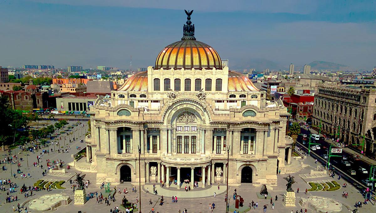 メキシコシティーの眺め