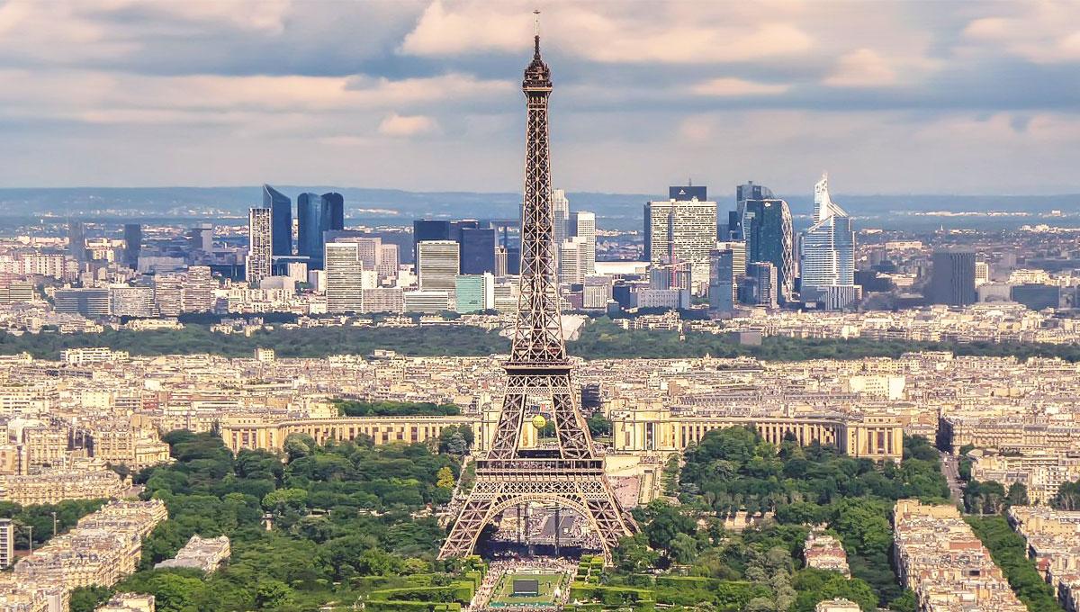 パリの眺め
