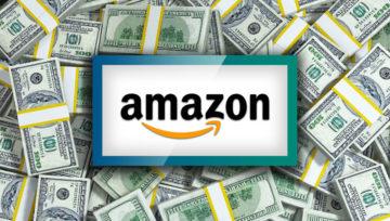 61/5000 Amazonの数十億の売上、収益、利益、投資